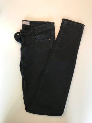 Schwarze Zara Skinny Jeans Größe 34