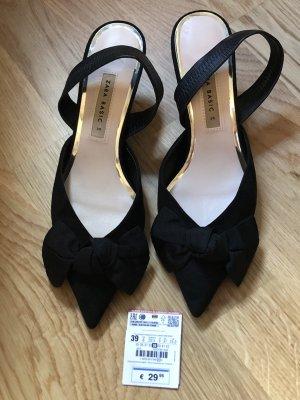 Zara Slingback pumps zwart
