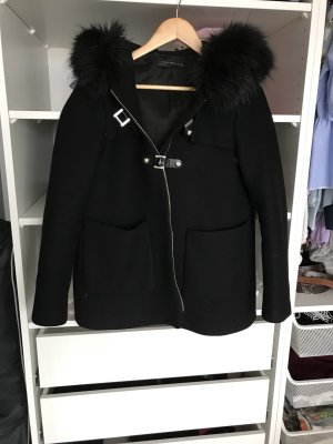 Schwarze Zara Winterjacke / Herbstjacke