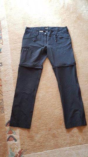 schwarze Zip-Wanderhose - Schöffel