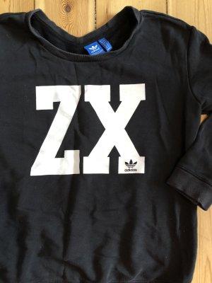 Schwarzer Adidas Pullover