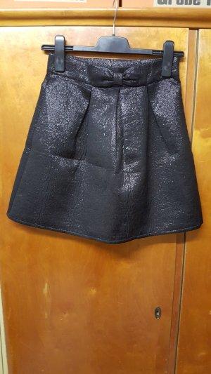 H&M Jupe évasée noir polyester