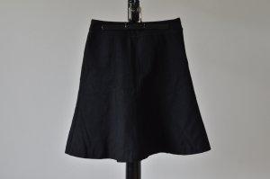 schwarzer ausgestellter Wollrock von Esprit