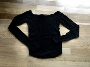 Zara Pull ras du cou noir
