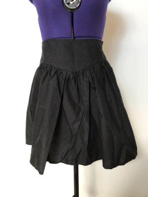 Benetton Skater Skirt black cotton