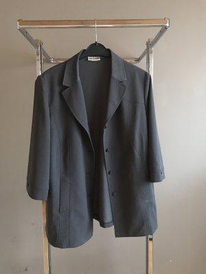 Blazer de esmoquin negro-gris antracita
