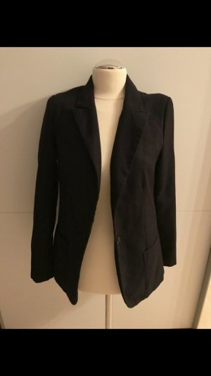 Amisu Jersey blazer zwart