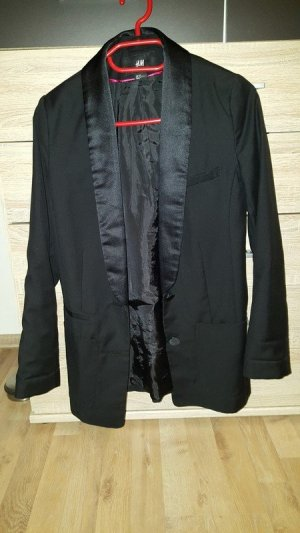 Schwarzer Blazer (Damensakko) von H&M