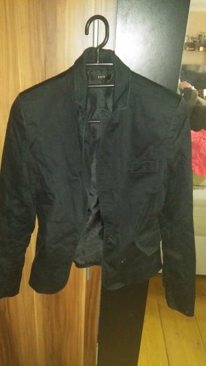 schwarzer blazer gr 34
