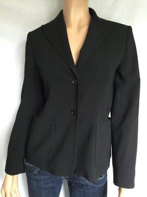 Schwarzer Blazer Gr. 36 schwarze Jacke Schwarz Business Bürokleidung Basicblazer