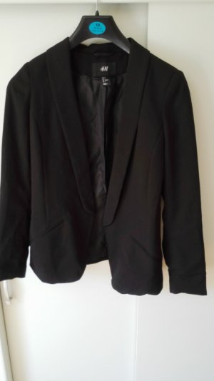 Schwarzer Blazer H&M Größe 34 XS