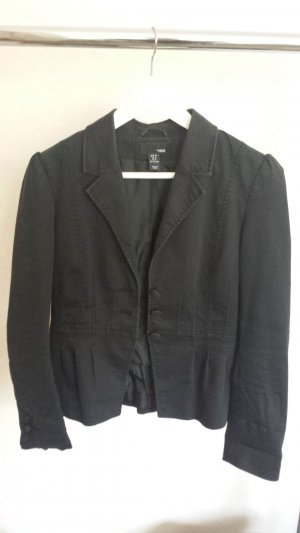 H&M Short Blazer black