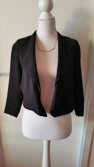 Ann Christine Short Blazer black polyester