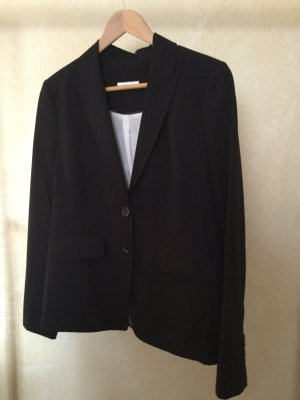oui BLACK LABEL Wool Blazer black