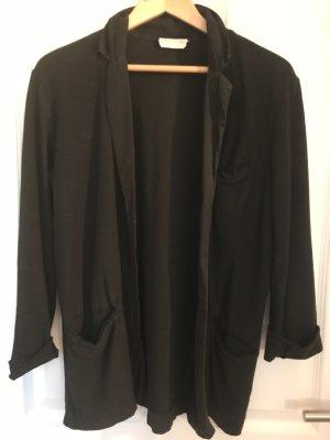 American Vintage Jersey Blazer negro