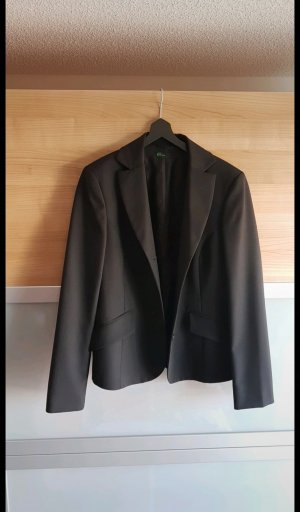 Benetton Blazer largo negro