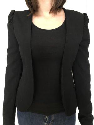 Charlotte Russe Tuxedo Blazer black polyester