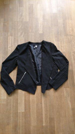 schwarzer Blazer von h&m
