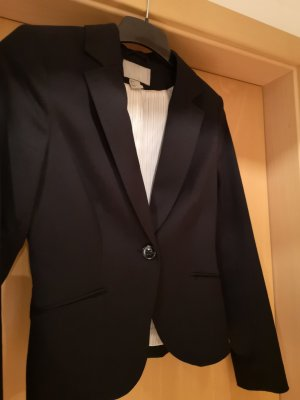H&M Sweat Blazer black