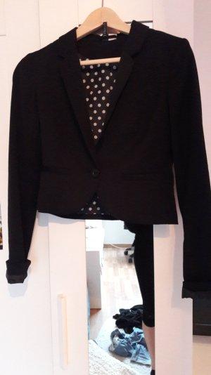Schwarzer Blazer von H&M Größe 34
