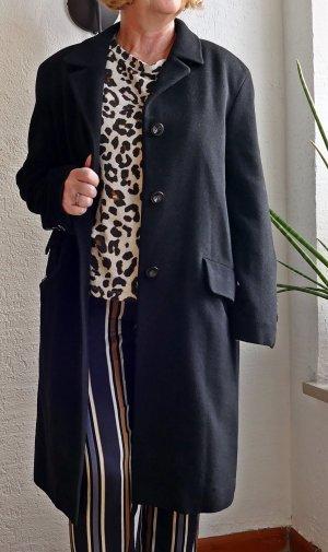 Basler Cappotto in lana nero Lana