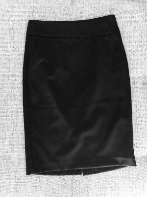 Schwarzer Bleistiftrock Gr. 34