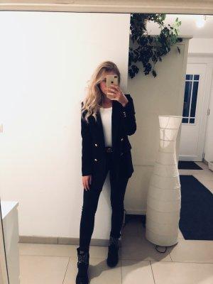 Schwarzer Blogger Blazer