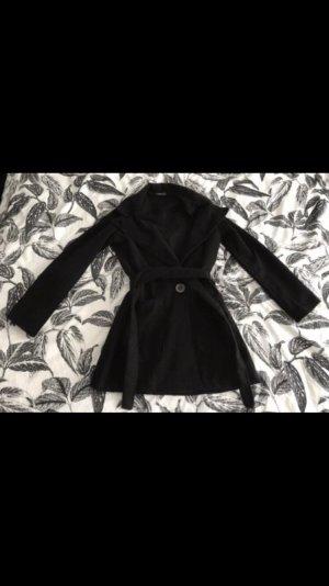 Boohoo Manteau court noir