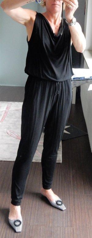 schwarzer Broadway Jumpsuit, Gr. S
