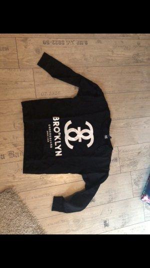 H&M Sweatshirt zwart