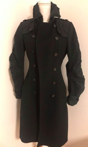 Schwarzer burberry Trenchcoat in 36
