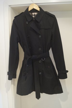 "schwarzer Burberry Trenchcoat ""The Kensington"""