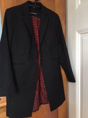 Drykorn Short Coat black wool