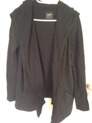 Schwarzer Cardigan Größe L