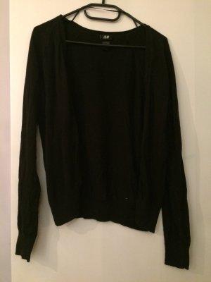 Schwarzer cardigan H&M