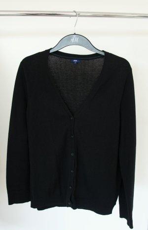 Schwarzer Cardigan/Strickjacke, XL, neuwertiger Zustand