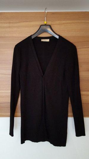 Schwarzer Cardigan von OUI Basics in Gr. 40, leichter Strick