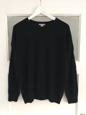 Schwarzer Cashmere Pullover