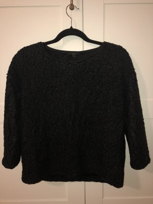 COS Sweater black polyester