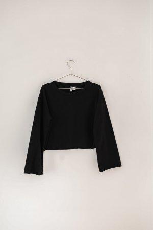 H&M T-shirt court noir