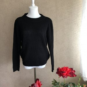 Coarse Knitted Sweater black