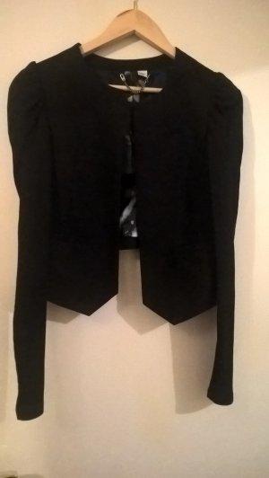 schwarzer Damen-Blazer, Gr. 38 von H&M