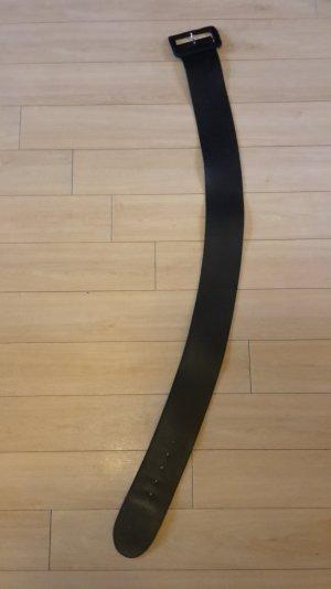schwarzer echt Ledergürtel