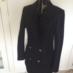 schwarzer eleganter klassischer Mantel von Vero Moda