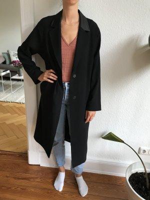 Schwarzer, eleganter Mantel von EDITED