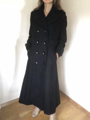 She Winterjas zwart Wol