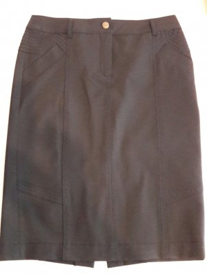 Bandolera Pencil Skirt black