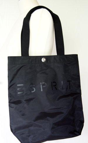 Schwarzer Esprit-Shopper aus Nylon
