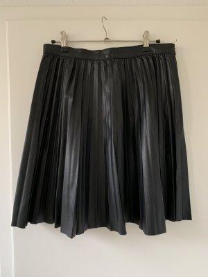 Zara Falda a cuadros negro