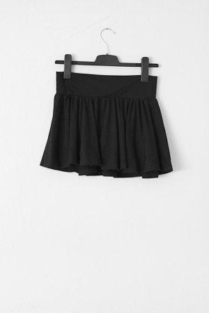 schwarzer Faltenrock von H&M